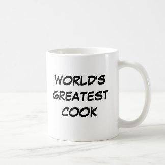 """""""世界すばらしい調理師""""のマグ コーヒーマグカップ"""