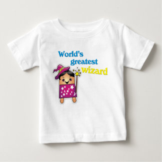 """""""世界すばらしい魔法使い""""の幼児Tシャツ ベビーTシャツ"""