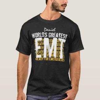 世界すばらしいEMTの緊急の医学の技術者 Tシャツ