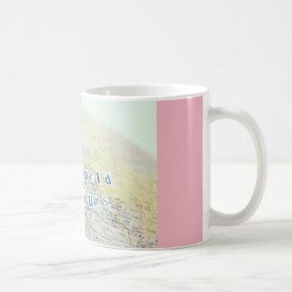 """""""世界ですあなたの""""は コーヒーマグカップ"""