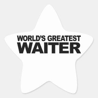 世界ですばらしいウェイター 星シール