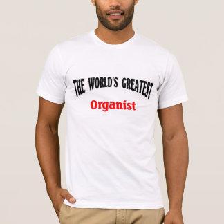 世界ですばらしいオルガン奏者 Tシャツ