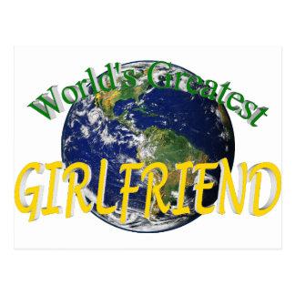 世界ですばらしいガールフレンド ポストカード
