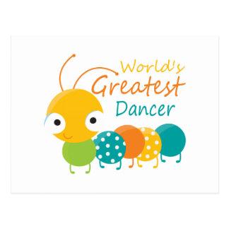 世界ですばらしいダンサー ポストカード