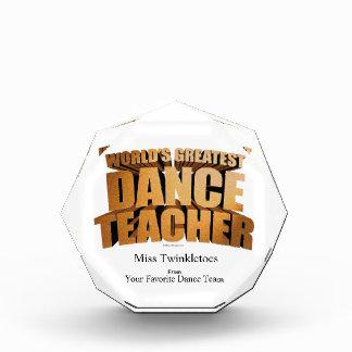 世界ですばらしいダンスの先生 表彰盾
