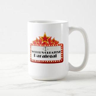 世界ですばらしいパラリーガル コーヒーマグカップ
