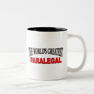 世界ですばらしいパラリーガル ツートーンマグカップ