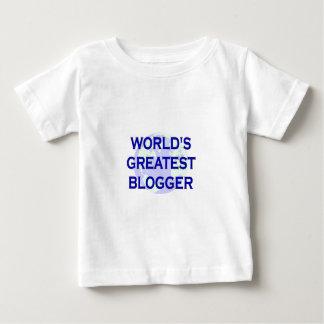 世界ですばらしいブロガー ベビーTシャツ