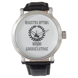 世界ですばらしいラテン系の先生(メス) 腕時計