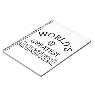 世界ですばらしい会計係 ノートブック