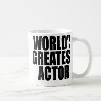 世界ですばらしい俳優 コーヒーマグカップ