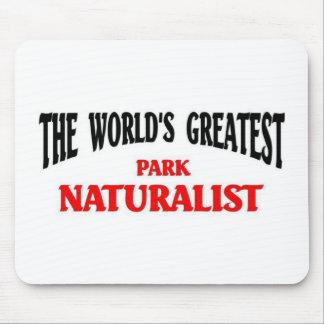 世界ですばらしい公園の博物学者 マウスパッド
