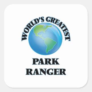 世界ですばらしい公園管理者 スクエアシール