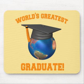 世界ですばらしい卒業生 マウスパッド