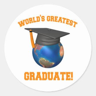 世界ですばらしい卒業生 ラウンドシール