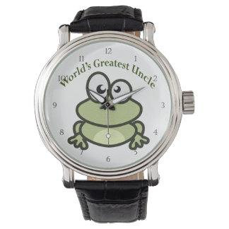 世界ですばらしい叔父さん 腕時計