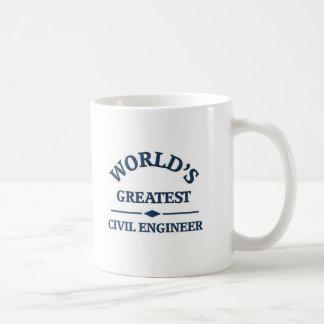 世界ですばらしい土木技師 コーヒーマグカップ