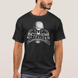 世界ですばらしい大工 Tシャツ