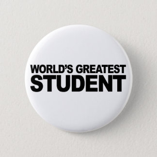 世界ですばらしい学生 5.7CM 丸型バッジ