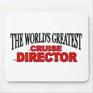 世界ですばらしい巡航ディレクター マウスパッド