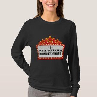 世界ですばらしい承諾の専門家 Tシャツ