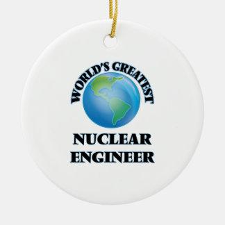 世界ですばらしい核エンジニア セラミックオーナメント