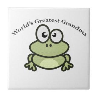 世界ですばらしい祖母 タイル