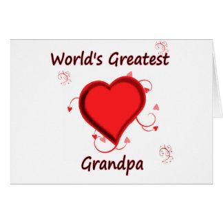 世界ですばらしい祖父 カード