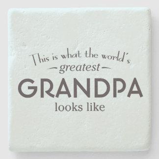 世界ですばらしい祖父 ストーンコースター