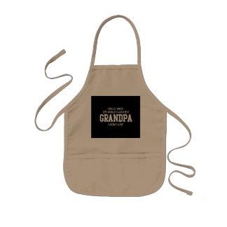 世界ですばらしい祖父 子供用エプロン