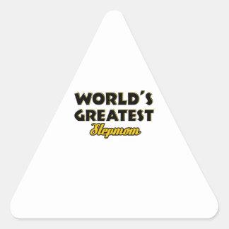 世界ですばらしい義母 三角形シール