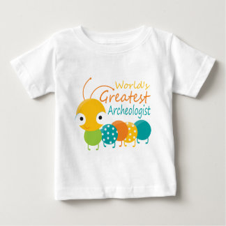 世界ですばらしい考古学者 ベビーTシャツ