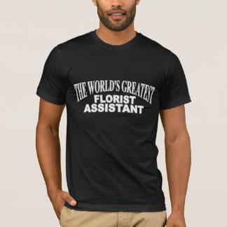 世界ですばらしい花屋の助手 Tシャツ
