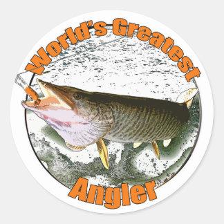 世界ですばらしい釣り人 ラウンドシール