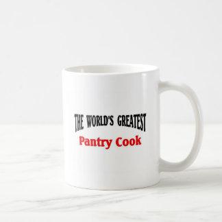 世界ですばらしい食料貯蔵室の調理師 コーヒーマグカップ
