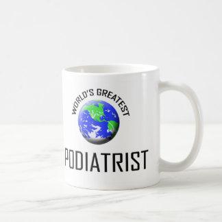 世界ですばらしいPodiatrist コーヒーマグカップ