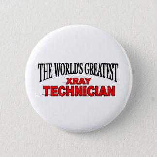 世界ですばらしいX線の技術者 5.7CM 丸型バッジ