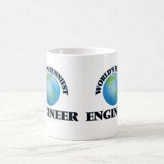 世界で最もおかしいエンジニア コーヒーマグカップ