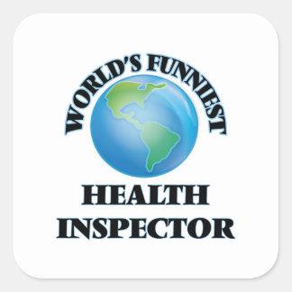 世界で最もおかしい健康の検査官 スクエアシール