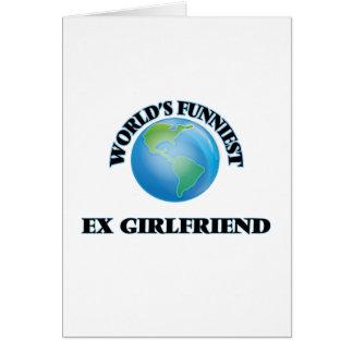 世界で最もおかしい元ガールフレンド カード