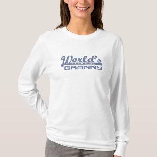世界で最もクールなおばあさんのフード付きスウェットシャツ Tシャツ