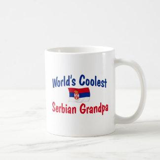 世界で最もクールなセルビアの祖父 コーヒーマグカップ