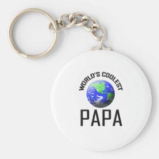 世界で最もクールなパパ キーホルダー