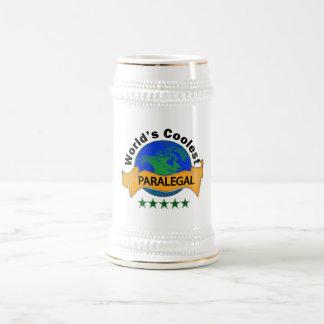 世界で最もクールなパラリーガル ビールジョッキ