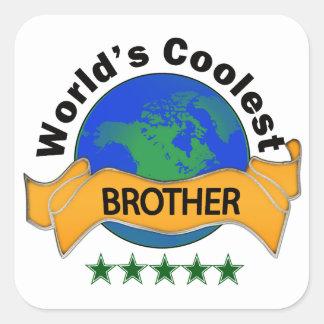 世界で最もクールな兄弟 スクエアシール