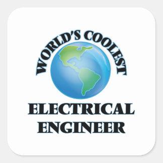 世界で最もクールな電気技師 スクエアシール