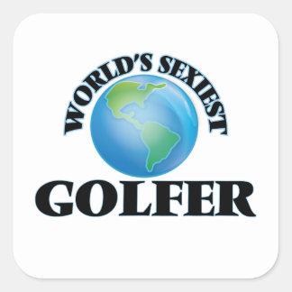 世界で最もセクシーなゴルファー スクエアシール