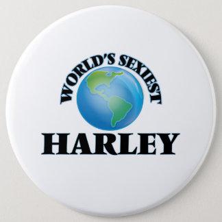 世界で最もセクシーなハーレー 15.2CM 丸型バッジ