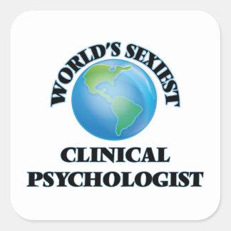 世界で最もセクシーな臨床心理学者 スクエアシール