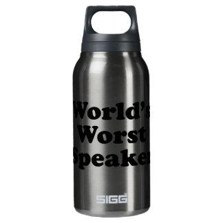 世界で最も悪いスピーカー 断熱ウォーターボトル